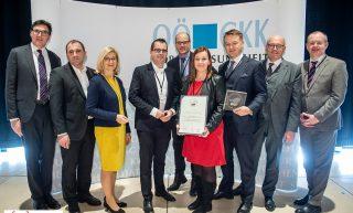 Business Upper Austria für Betriebliche Gesundheitsförderung ausgezeichnet